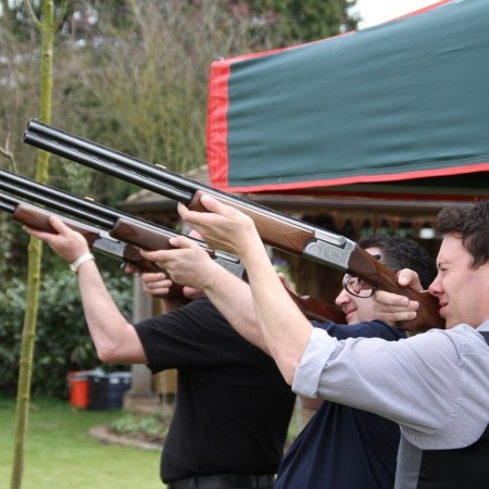 Laser Clays Hanbury, Worcestershire