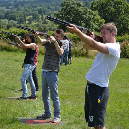 Laser Clays Malvern, Worcestershire, Worcestershire