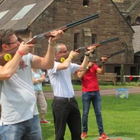 Laser Clays Peckforton , Cheshire