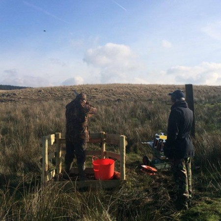 Clay Pigeon Shooting Seven Sisters, Nr Neath, West Glamorgan
