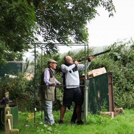 Clay Pigeon Shooting Market Harborough, Northamptonshire