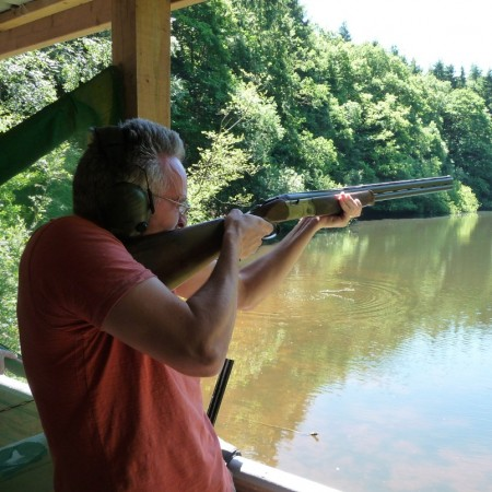 Clay Pigeon Shooting Kingsland, Herefordshire, Herefordshire