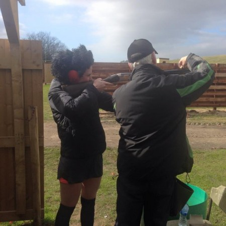 Clay Pigeon Shooting Rufforth, Nr York, North Yorkshire