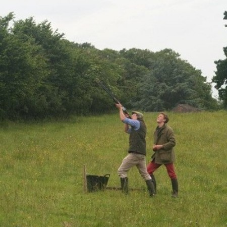 Clay Pigeon Shooting Stathe, Somerset, Somerset