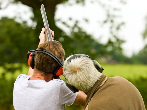 Clay Pigeon Shooting Sawbridgeworth, Essex